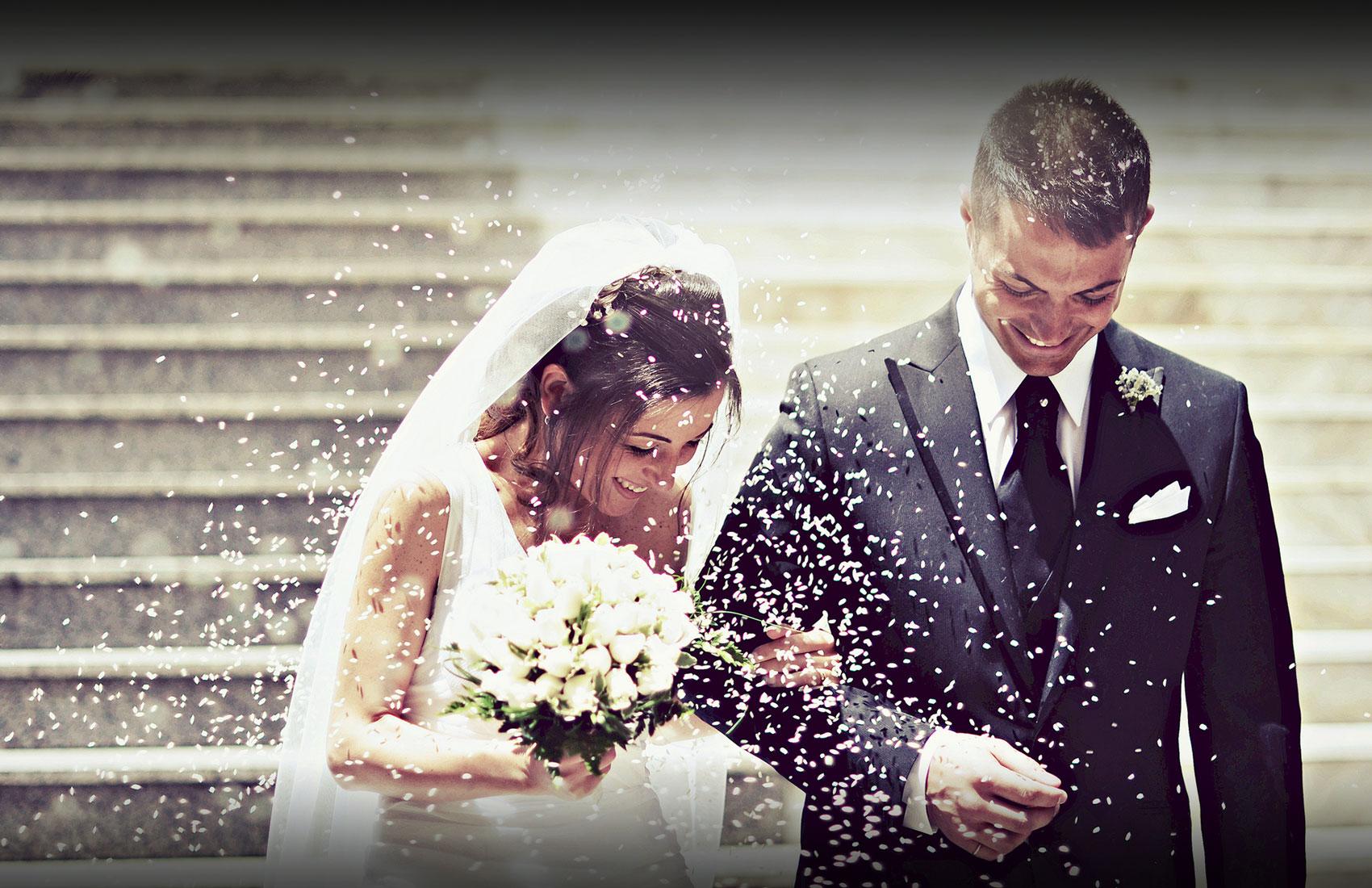bruidspaar trouwen verloofd