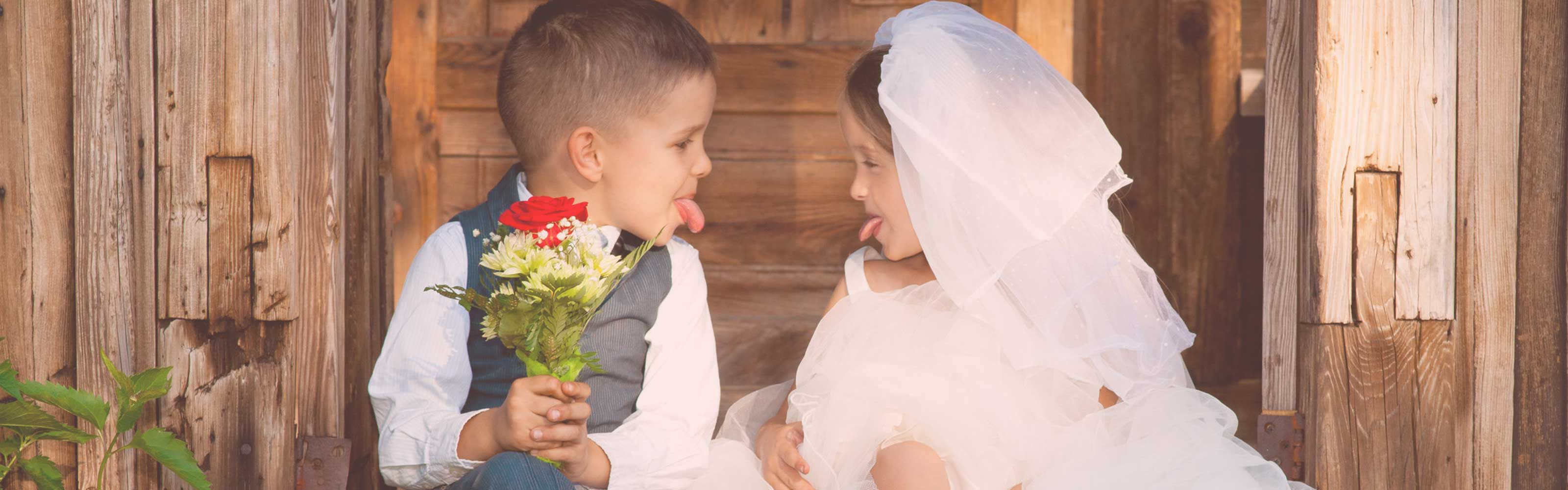 bruidskinderen bruidsmeisjes